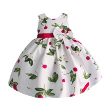 Платье для девочки Вишенки (код товара: 50607)