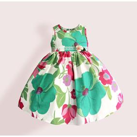Платье для девочки Зеленая симфония (код товара: 50609): купить в Berni