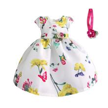 Платье для девочки Желтые цветы (код товара: 50605)