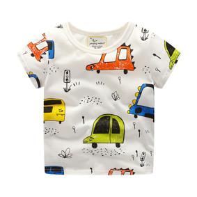 Детская футболка Машинки (код товара: 50701): купить в Berni