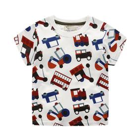 Детская футболка Транспорт  (код товара: 50706): купить в Berni