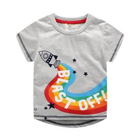 fe28effe8af0bf Дитяча футболка Ракета (код товару: 50710): купити в Berni