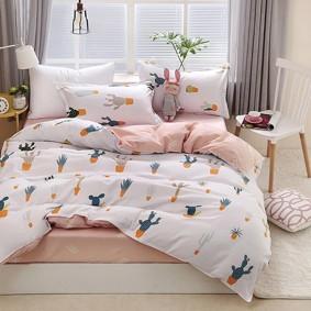 Уценка (дефекты)! Комплект постельного белья Кактусы (двуспальный-евро) (код товара: 50730): купить в Berni