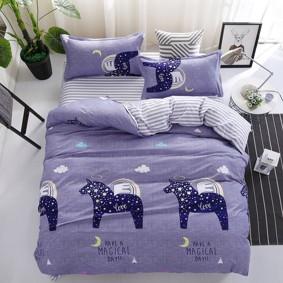 Уценка (дефекты)! Комплект постельного белья Пегас (полуторный) (код товара: 50728): купить в Berni