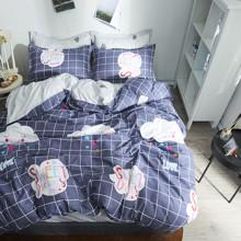 Уценка (дефекты)! Комплект постельного белья Сладкие мечты (двуспальный-евро) (код товара: 50723)