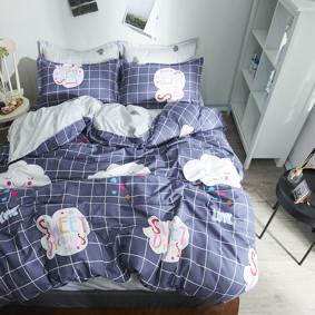 Уценка (дефекты)! Комплект постельного белья Сладкие мечты (двуспальный-евро) (код товара: 50723): купить в Berni