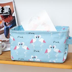 Уценка (дефекты)! Корзина для игрушек, белья, хранения Фламинго (код товара: 50778): купить в Berni