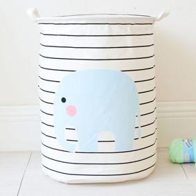 Уценка (дефекты)! Корзина для игрушек, белья, хранения Слон (код товара: 50766): купить в Berni