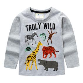 Уценка (дефекты)! Детская кофта Африканские животные (код товара: 50893): купить в Berni