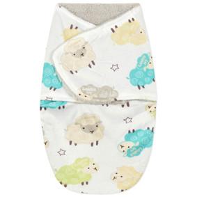 Уценка (дефекты)! Флисовая пеленка - кокон на липучках (код товара: 50882): купить в Berni