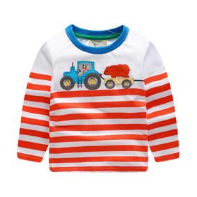Уценка (дефекты)! Кофта для мальчика Трактор оптом (код товара: 50847): купить в Berni