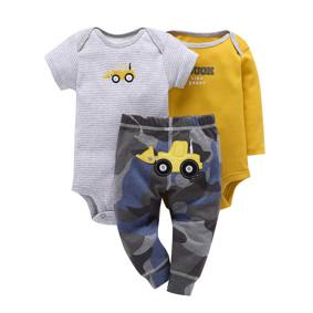Уценка (дефекты)! Комплект для мальчика 3 в 1 Бульдозер (код товара: 50883): купить в Berni