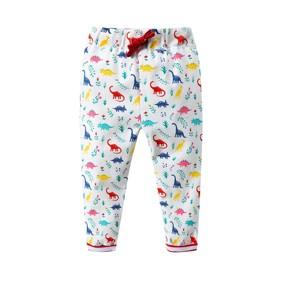 Уценка (дефекты)! Штаны для девочки Динозавры оптом (код товара: 50891): купить в Berni