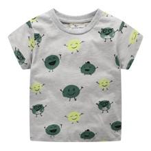 Уценка (дефекты)! Детская футболка Зеленый горошек (код товара: 50957)