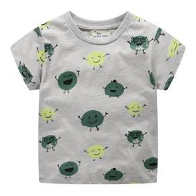 Уценка (дефекты)! Детская футболка Зеленый горошек (код товара: 50957): купить в Berni