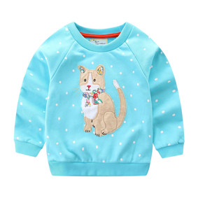 Уценка (дефекты)! Детская кофта Кошка (код товара: 50907): купить в Berni