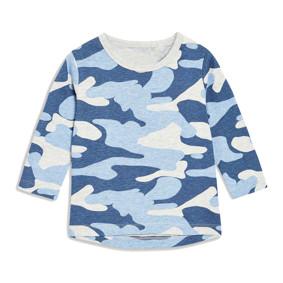 Уценка (дефекты)! Кофта для мальчика Голубой хаки (код товара: 50951): купить в Berni