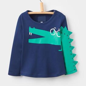 Уценка (дефекты)! Кофта для мальчика Крокодил оптом (код товара: 50937): купить в Berni