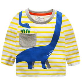 Уценка (дефекты)! Кофта для мальчика Синий динозавр оптом (код товара: 50945): купить в Berni