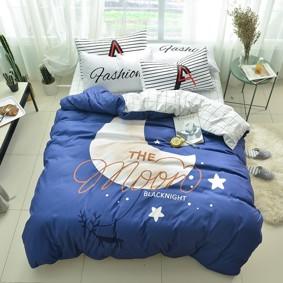 Уценка (дефекты)! Комплект постельного белья Луна (полуторный) (код товара: 50995): купить в Berni