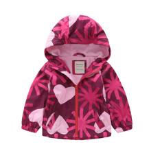 Уценка (дефекты)! Куртка для девочки Сердца (код товара: 50943)