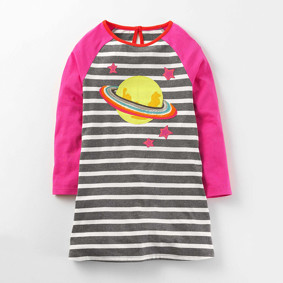 Уценка (дефекты)! Платье для девочки Планета оптом (код товара: 50905): купить в Berni