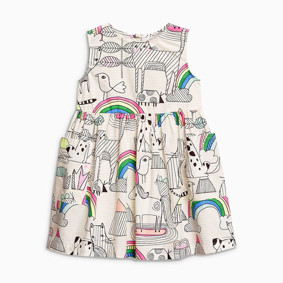 Уценка (дефекты)! Платье для девочки Радуга (код товара: 50948): купить в Berni