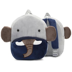 Уценка (дефекты)! Рюкзак велюровый Слон оптом (код товара: 50970): купить в Berni
