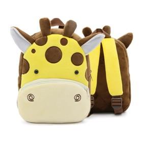 Уценка (дефекты)! Рюкзак велюровый Жираф оптом (код товара: 50973): купить в Berni