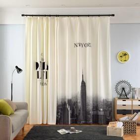 Уценка (дефекты)! Штора Нью-Йорк 135 х 265 2 шт. (код товара: 50978): купить в Berni