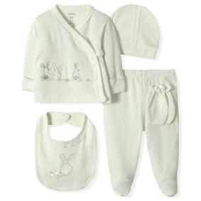 Комплект 10 в 1 для новорожденной девочки Caramell  (код товара: 5150): купить в Berni