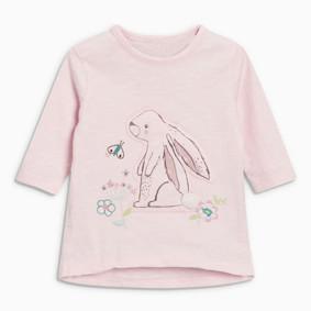 Уценка (дефекты)! Кофта для девочки Кролик (код товара: 51044): купить в Berni