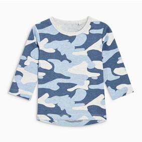 Уценка (дефекты)! Кофта для мальчика Голубой хаки (код товара: 51045): купить в Berni