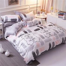 Уценка (дефекты)! Комплект постельного белья Нежность (двуспальный-евро) (код товара: 51082): купить в Berni