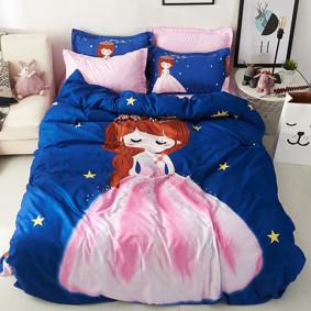 Уценка (дефекты)! Комплект постельного белья Принцесса (полуторный) оптом (код товара: 51065): купить в Berni
