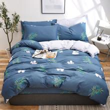 Уценка (дефекты)! Комплект постельного белья Тропический цветок (полуторный) (код товара: 51086)