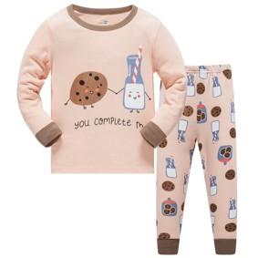 Уценка (дефекты)! Пижама Печенье с молоком оптом (код товара: 51040): купить в Berni
