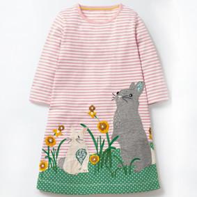 Уценка (дефекты)! Платье для девочки Зайки (код товара: 51046): купить в Berni