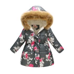 Демисезонная куртка для девочки Цветущее дерево (код товара: 51132): купить в Berni