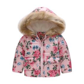 Демисезонная куртка для девочки Голубая бабочка (код товара: 51149): купить в Berni