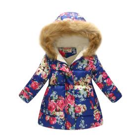 Демисезонная куртка для девочки Розовые розы (код товара: 51135): купить в Berni