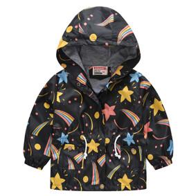 Куртка-ветровка детская Радужные звезды (код товара: 51127): купить в Berni