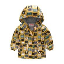 Куртка-ветровка детская Веселые коты (код товара: 51119)