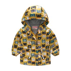 Куртка-ветровка детская Веселые коты (код товара: 51119): купить в Berni
