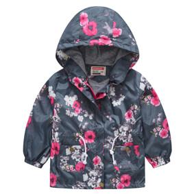 Куртка-ветровка для девочки Цветущая сакура (код товара: 51126): купить в Berni