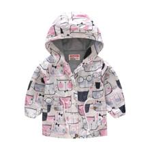 Куртка-ветровка для девочки Кошачья мордочка (код товара: 51118)