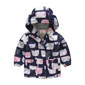 Куртка-ветровка для девочки Мяу (код товара: 51117): купить в Berni