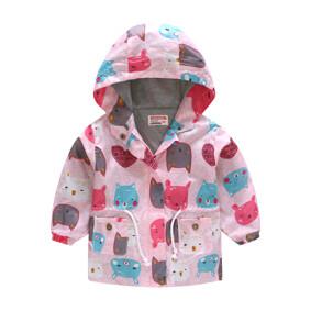 Куртка-ветровка для девочки Зверушки (код товара: 51116): купить в Berni