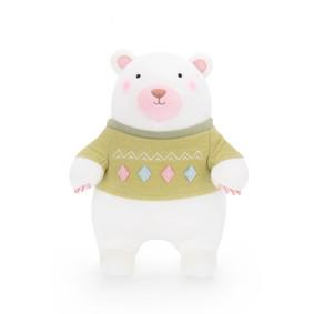 Мягкая игрушка Мишка в зеленом свитере, 24 см оптом (код товара: 51177): купить в Berni