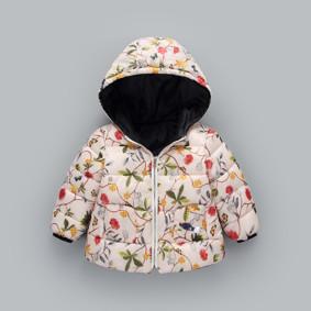 Демисезонная куртка для девочки Райский сад (код товара: 51234): купить в Berni